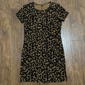 Old Navy Stretch Leopard Print Dress 👗
